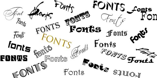 Top font chữ nghệ thuật độc đáo