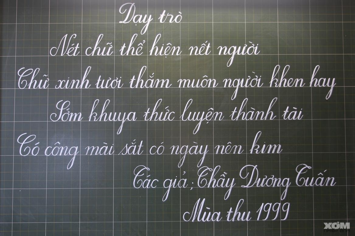 Font chữ Viết Tay tiểu học
