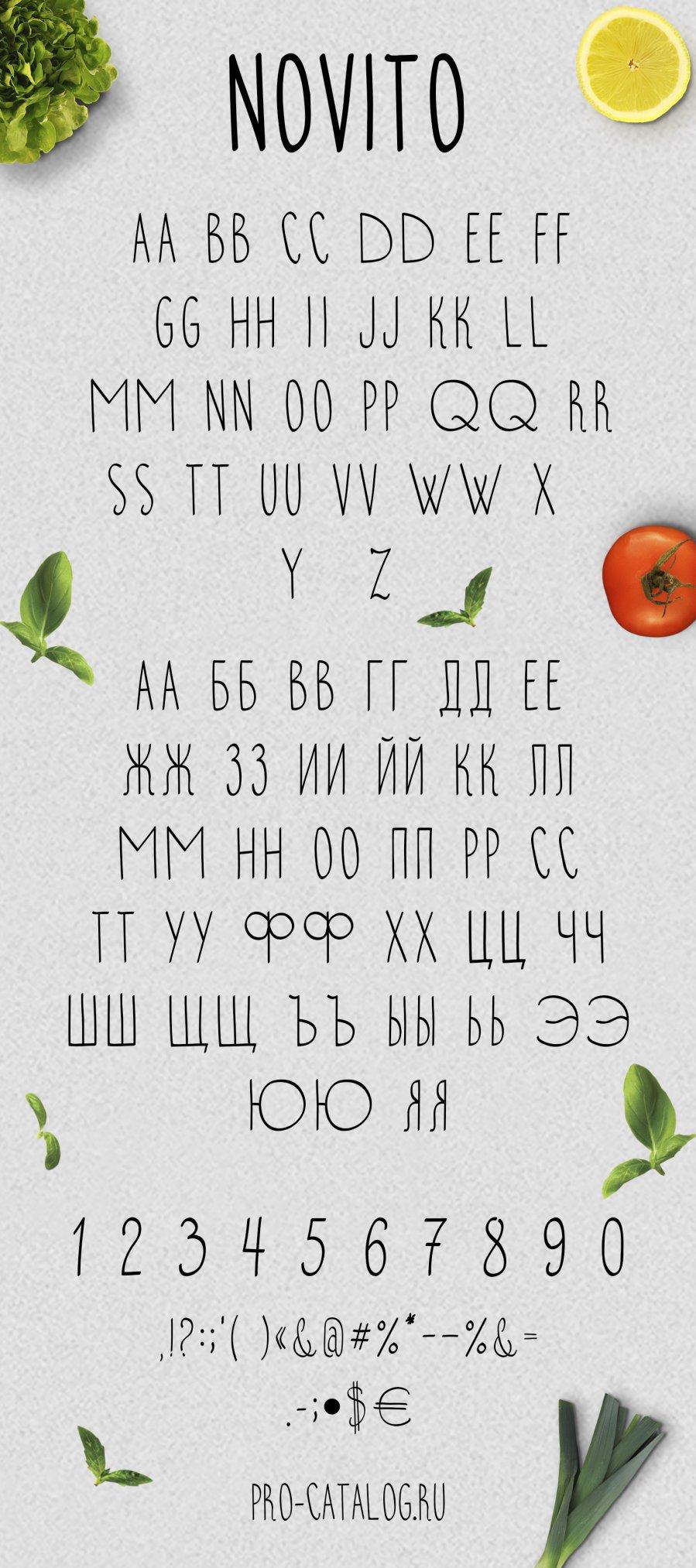 Font chữ viết tay Font chữ viết tay Novito