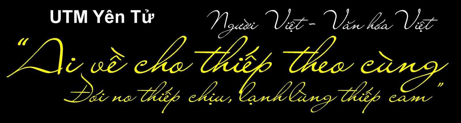 Font chữ viết tay UTM Yen Tu