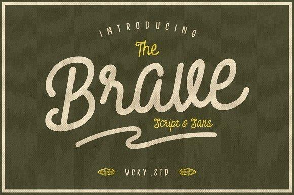 Gia đình font chữ Brave là một font chữ hiện đại, thú vị với các cạnh bo tròn và các chi tiết tối giản