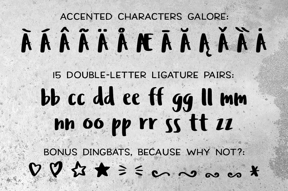 Font chữ viết tay Ludicrous