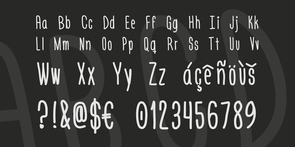 Font chữ viết tay Engine