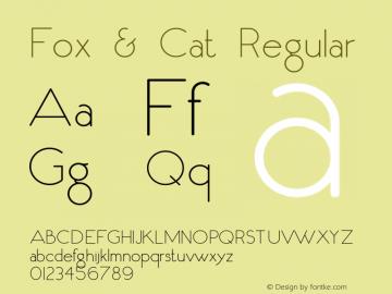 Fox & Cat cũng có thể làm việc cho các biểu trưng và kế hoạch xây dựng thương hiệu.