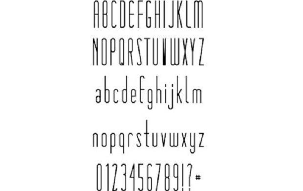 Là kiểu chữ đầu tiên từ nghệ sĩ viết chữ Simon Walker, Matchbook đặc trưng bởi các dạng mở rộng và serifs tròn