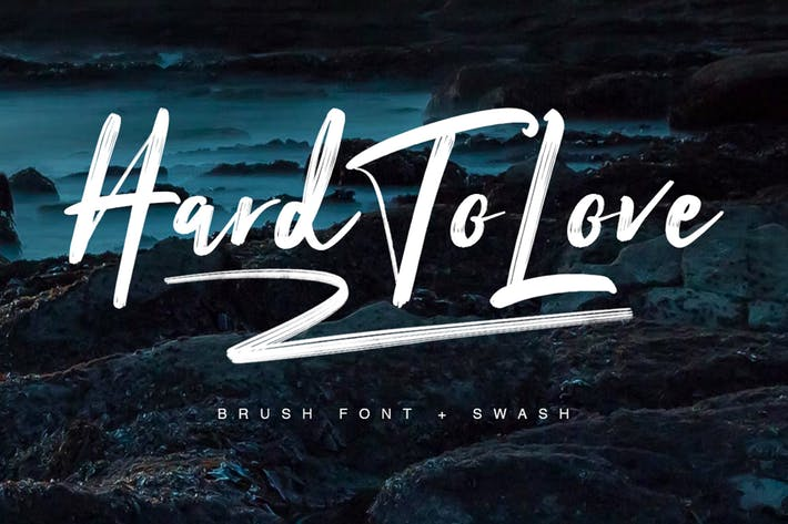 Font Chữ Viết Tay Hard To Love Typeface