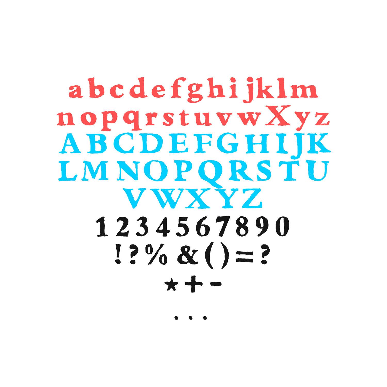 Font chữ viết tay LSTK Bembo