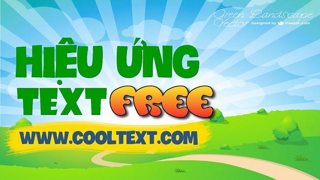tải font chữ nghệ thuật online CoolText