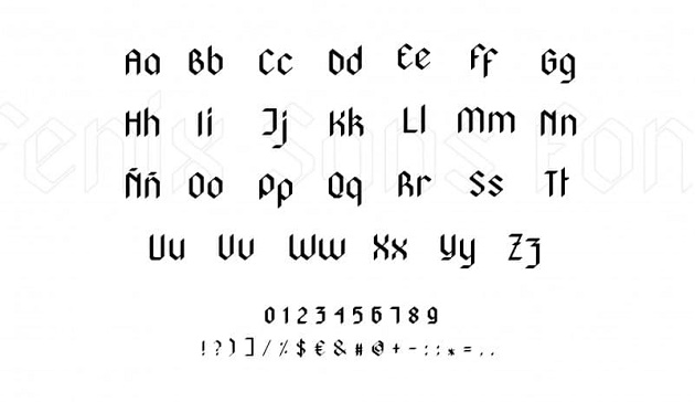 Fénix là một font chữ tròn được sáng tạo dựa trên cảm hứng từ chữ calligraphy (chữ viết tay từ bút lông và mực)
