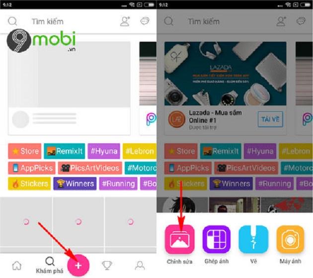 Cách tìm kiếm font chữ bằng công cụ trên hình ảnh bằng điện thoại Android