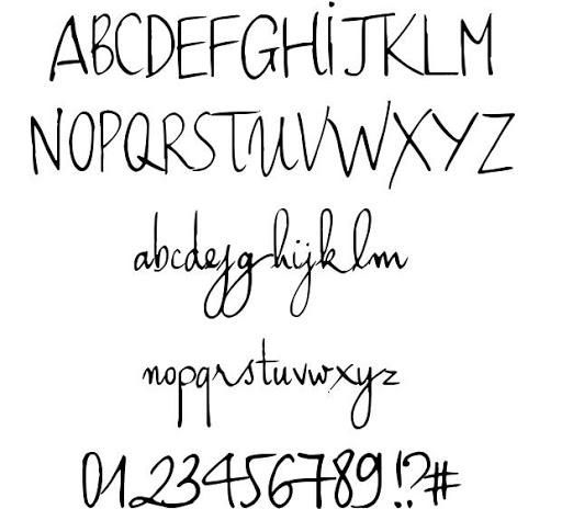 Font chữ viết tay Font Haiku's Script